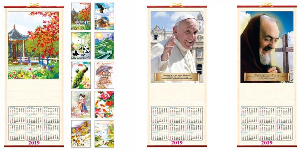 calendari cinesi in canna